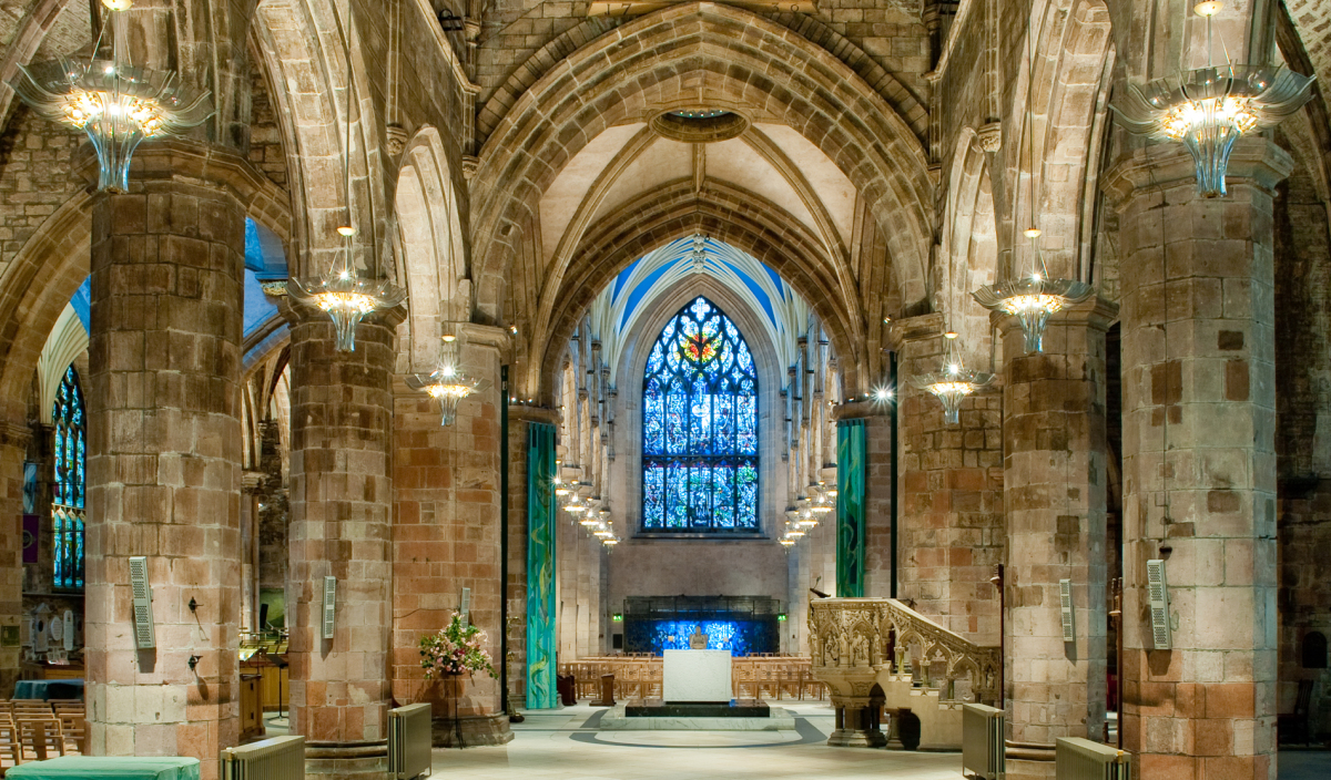 St Giles Cathedral Coach Hire