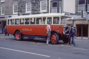 Vintage bus for hiring
