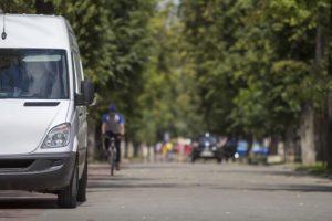 Glastonbury minibus